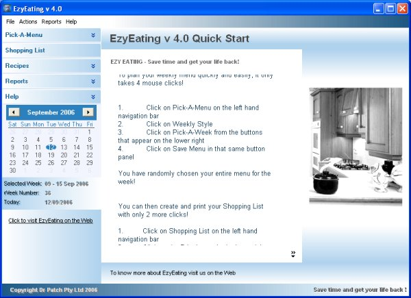 EzyEating Screenshot