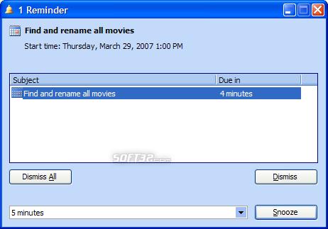 OrgScheduler LAN Screenshot 4