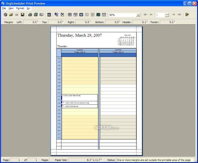 OrgScheduler LAN Screenshot 6