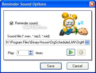 OrgScheduler LAN Screenshot 7
