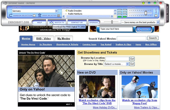 Internet Radio Screenshot