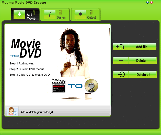 Movie DVD  Creator Screenshot