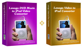 Lenogo DVD to iPod Converter + Video to iPod Powerpack Screenshot 1