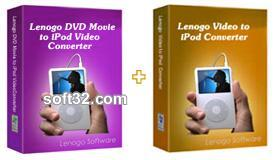 Lenogo DVD to iPod Converter + Video to iPod Powerpack Screenshot 3