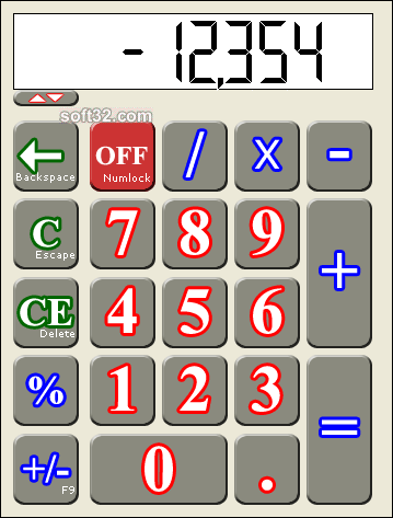 Cosycalc Screenshot