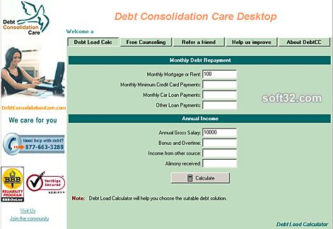 DebtCC Desktop Screenshot 2