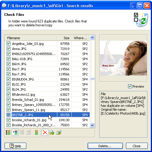 CD Duplibase Screenshot