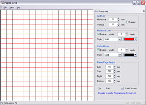 Paper Grid Screenshot