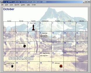 Calendar Constructer Screenshot