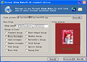 Virtual Album Maker Standard Screenshot 2