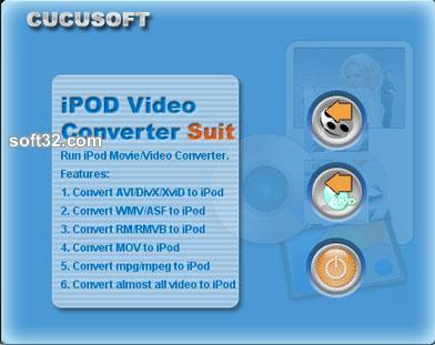 01 Cucusoft iPod Video Converter + DVD Screenshot 3