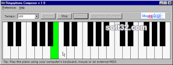 Ringophone.com ringtones composer Screenshot 2