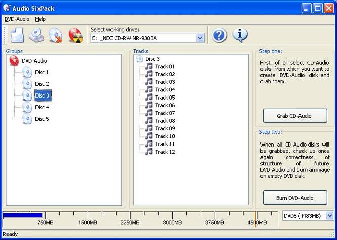 Audio SixPack Screenshot 1