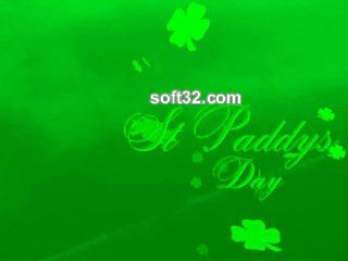 Animated St.Paddys Day Screensaver Screenshot