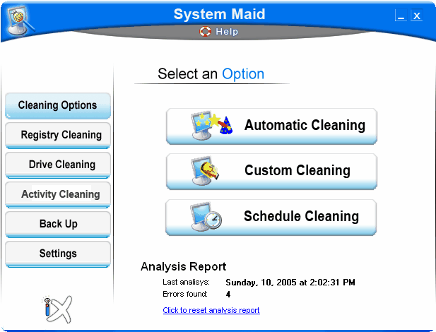 System Maid Screenshot