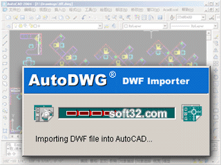 AutoDWG DWF to DWG Converter Screenshot