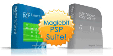 Magicbit DVD Direct to PSP Power Pack Screenshot