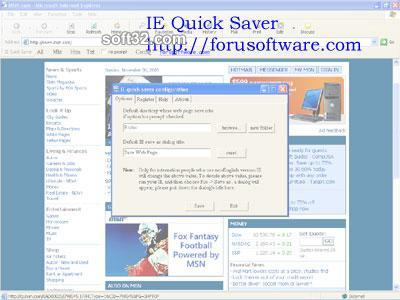ie quick saver Screenshot 3