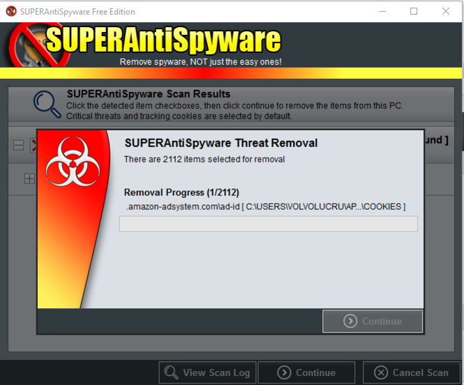 SUPERAntiSpyware Free Edition Screenshot 2