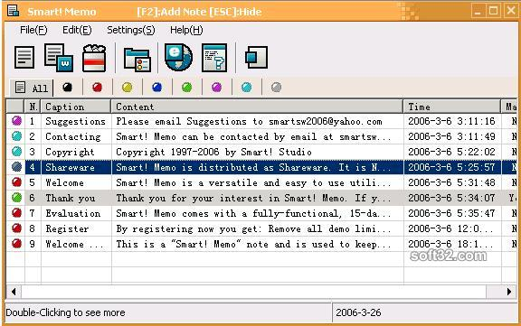 Smart! Memo Screenshot