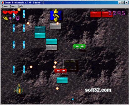 Super Brickanoid Screenshot