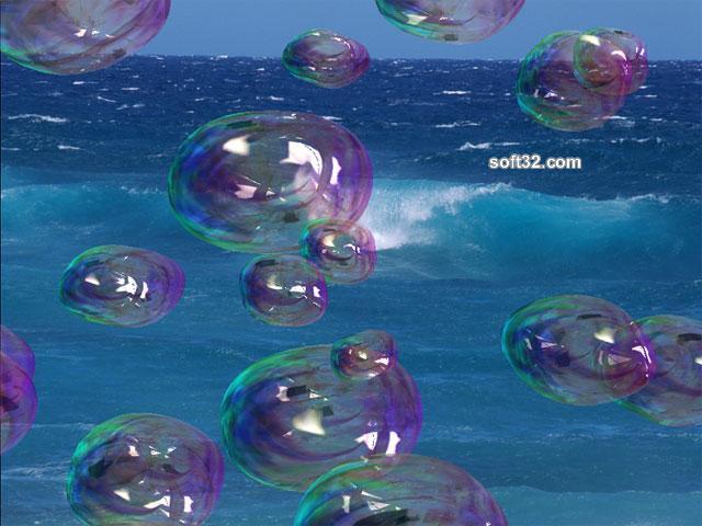 Amazing Bubbles 3D Screensaver Screenshot 3