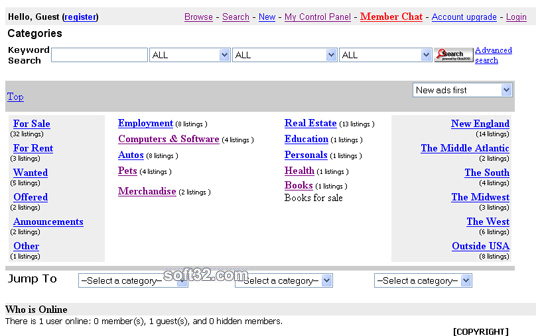 MojoListings Manager Screenshot