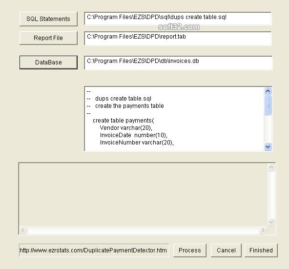 Duplicate Payment Detector Screenshot 2