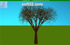 Tree screensaver Screenshot