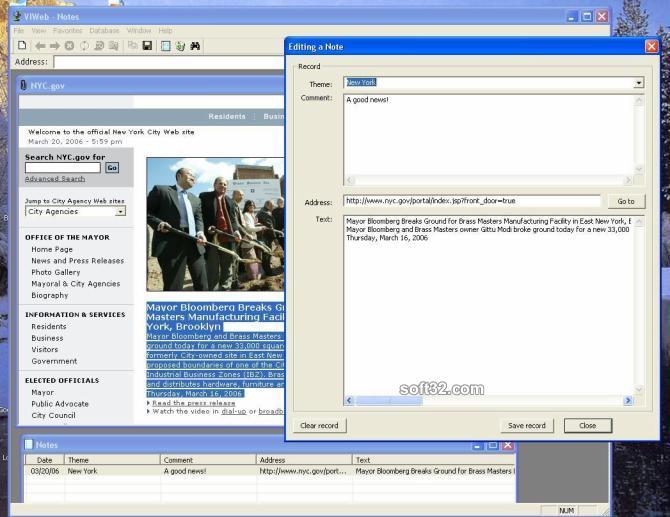 VIWeb Screenshot 3