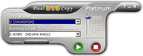 dual DVD copy Platinum Screenshot 1