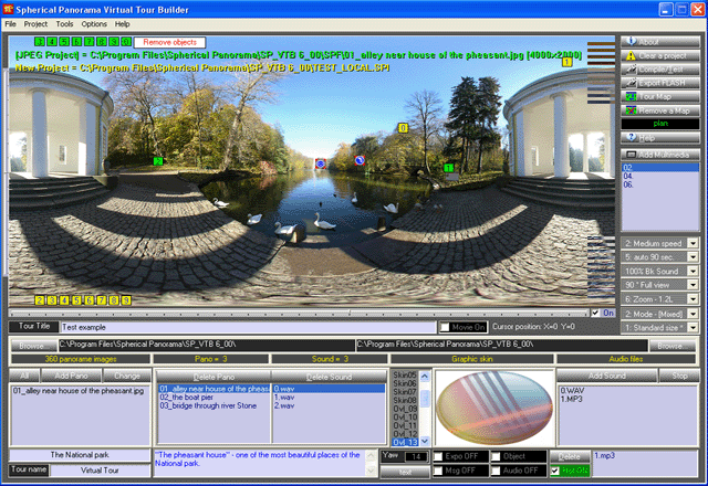 Spherical Panorama Virtual Tour Builder Screenshot 1