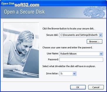 Digital Secure Disk Screenshot 3