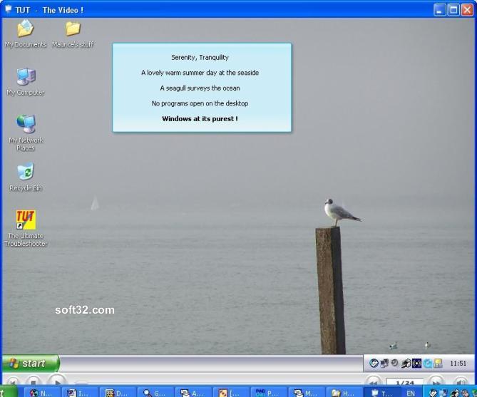 The TUT Video Screenshot 2