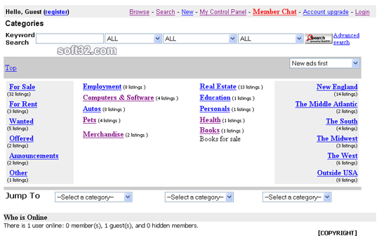 MojoDirectories Screenshot 1