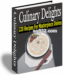 Culinary Delights 220 Recipes for Masterpiece Dishes Screenshot