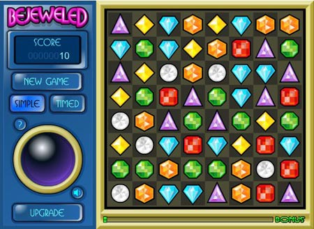 Bejeweled Screenshot