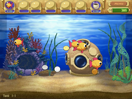 Insaniquarium Screenshot 2