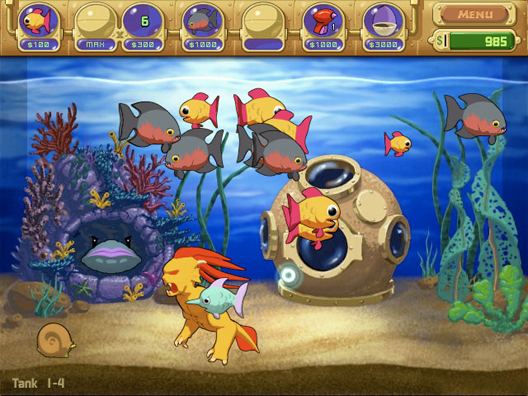 Insaniquarium Screenshot 3