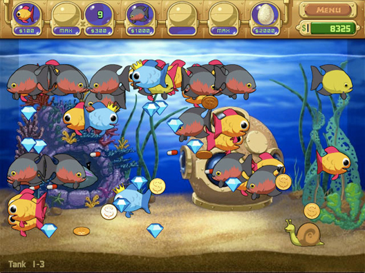 Insaniquarium Screenshot 1