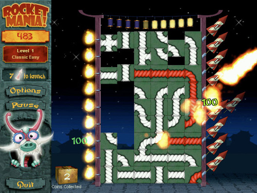 Rocket Mania Screenshot 2