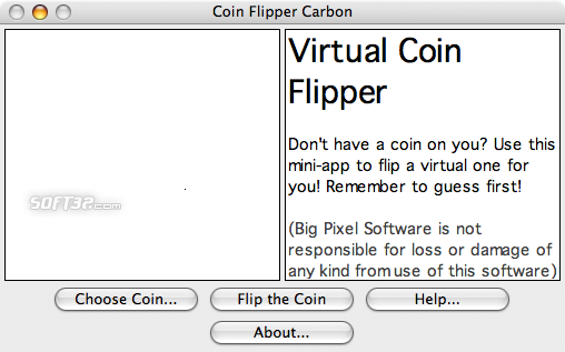 Coin Flipper Screenshot