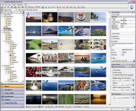 StudioLine Photo Classic Plus Screenshot 2
