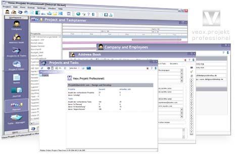 Veox Projekt Professionell Screenshot
