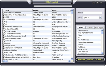 1st iPod transfer Screenshot 1