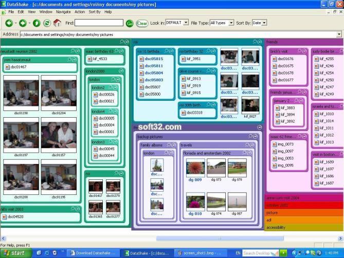 Datashake desktop Screenshot 2