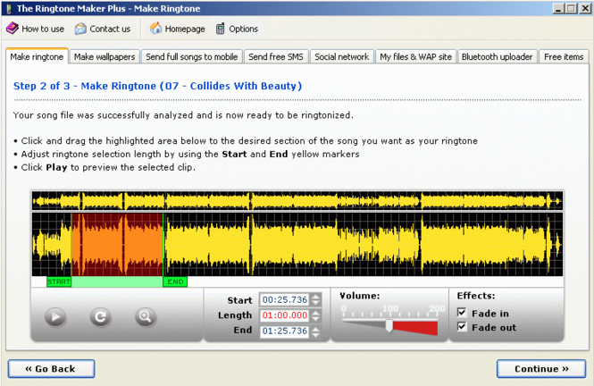 The Ringtone Maker Screenshot 1