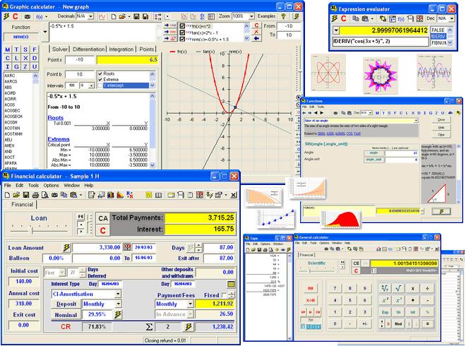 RICalc Home Screenshot