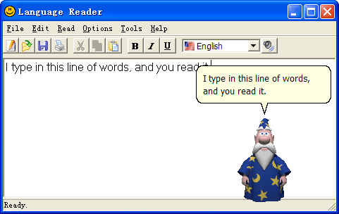 Language Reader Screenshot