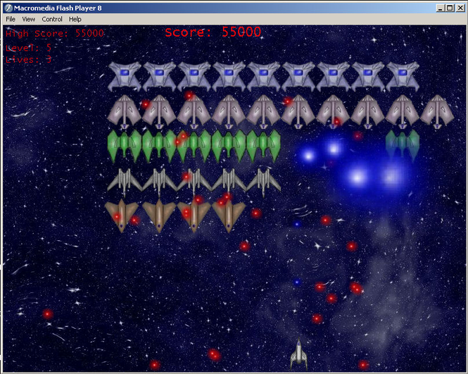 Space Alien Invaders Screenshot 1
